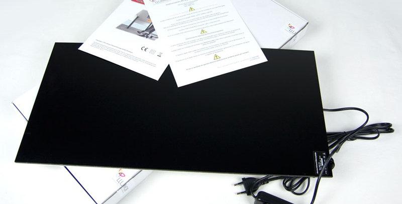 Placa calefacció radiant sota taula