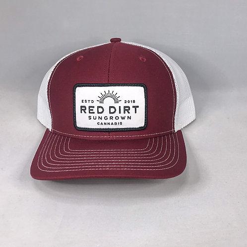 Trucker Hat - Maroon / White