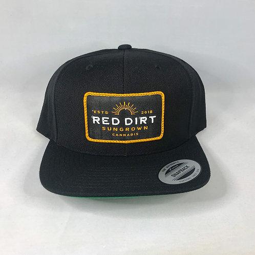 Snapback Hat - Black