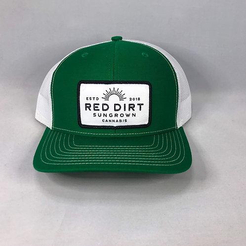 Trucker Hat - Bright Green / White