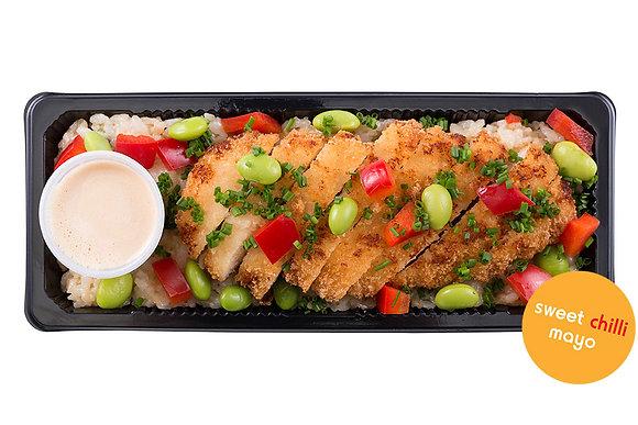 Chicken Katsu & Tempura Rice