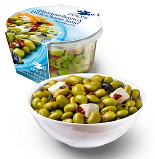 Edamame Beans & White Cheese Salad