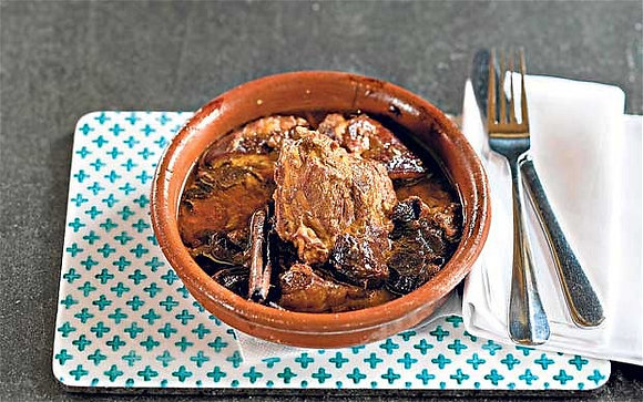 Lamb & Prune Tagine Stew