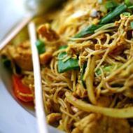 Fiery Singapore Noodles