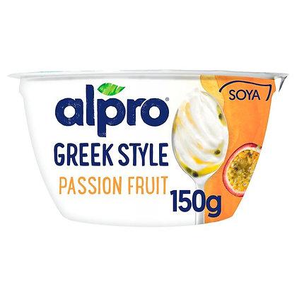 Alpro Greek Style Passion Fruit Yogurt