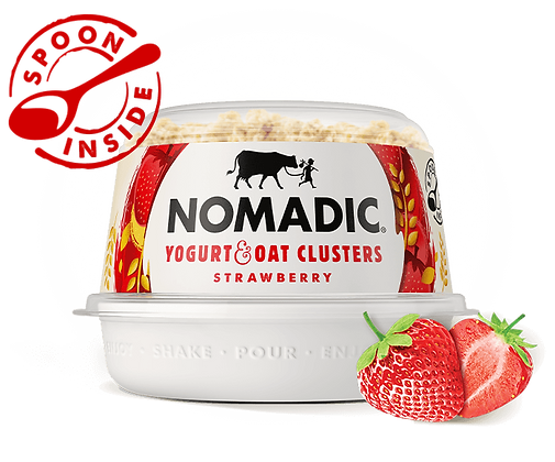 Nomadic Oat Clusters Strawberry