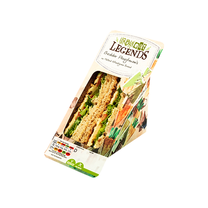 Cheddar Ploughmans Sandwich