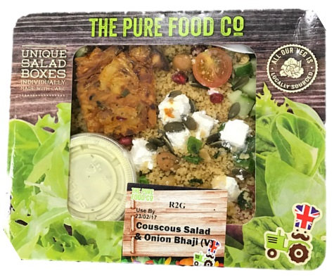 Couscous & Onion Bhaji Salad