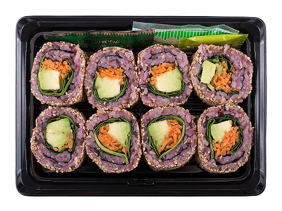 Black Rice Avocado & Mint Sushi (VG)