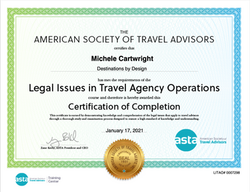Michele ASTA Legal Issues in Travel Agen