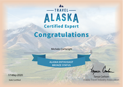 Michele Travel Alaska Certified Expert C