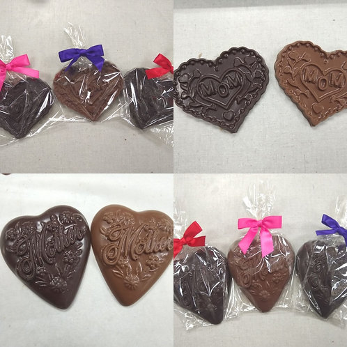 Mom/Mother Chocolate Hearts