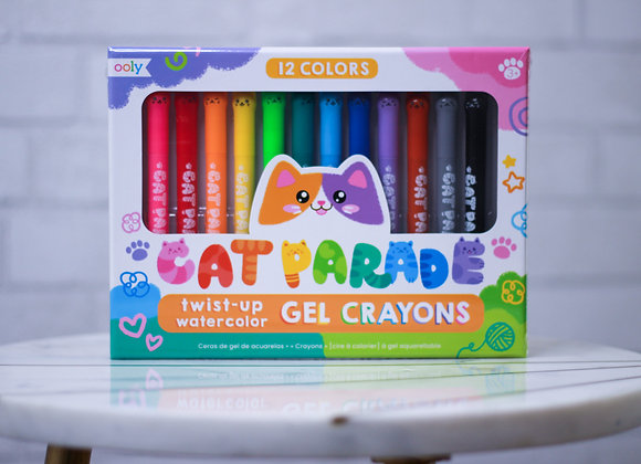 Cat Parade Gel Crayons