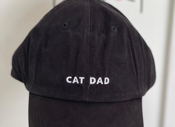 Cat Dad Baseball Cap