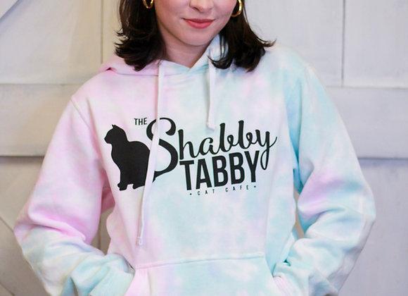 Tie-Dye Shabby Tabby Sweatshirt