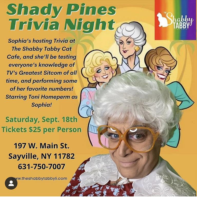 Shady Pines Trivia Night