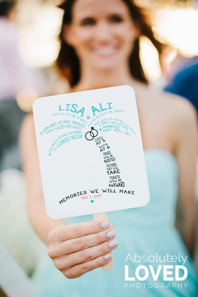 Wedding Program TBR
