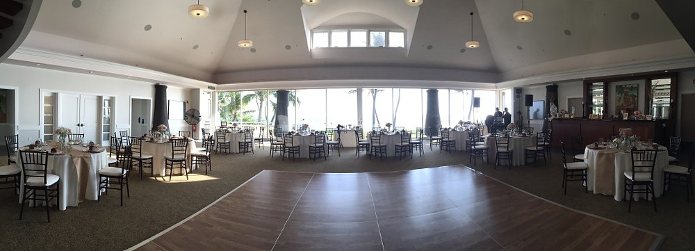 Sugar Beach Wedding Reception