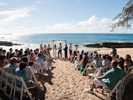 Stables Beach Turtle Bay Resort Wedding