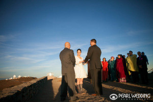 haleakala Sunrise wedding ceremony