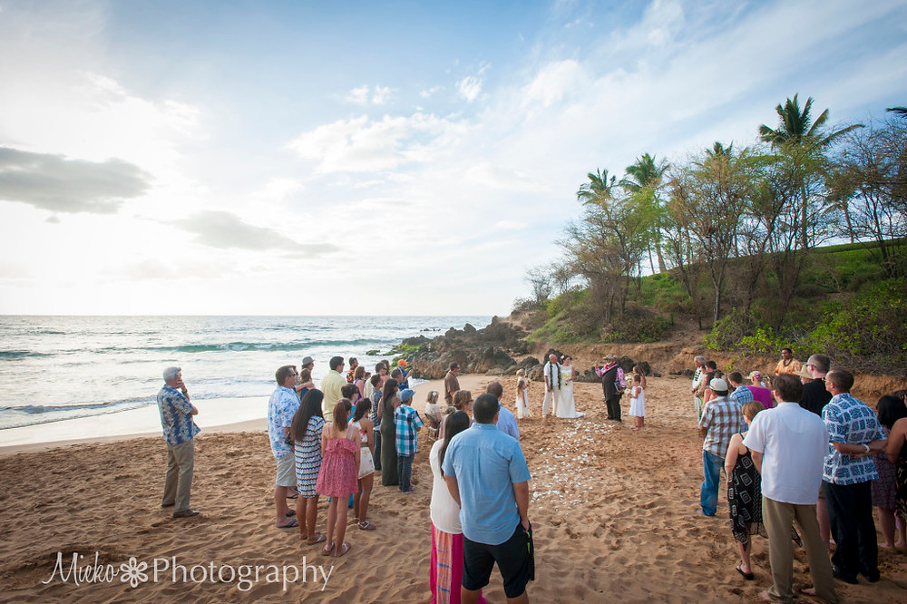 Wedding Ceremony on Beach