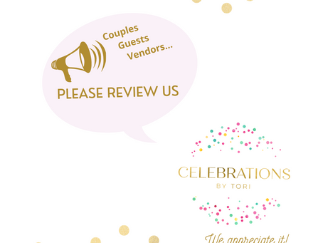 Please REVIEW Celebrations by Tori
