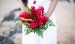 Red Ginger Bouquet by Dellables