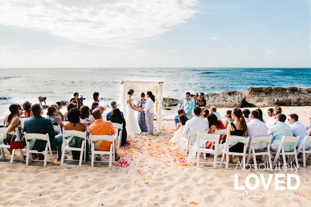 Stables Beach Ceremony L-A