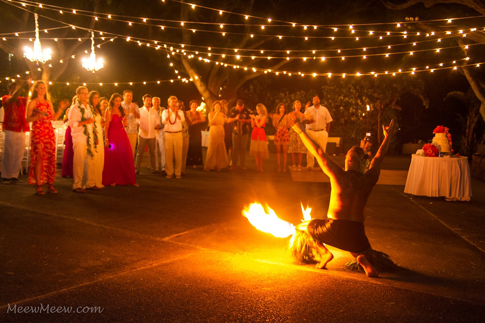Big Island Fire Dancer