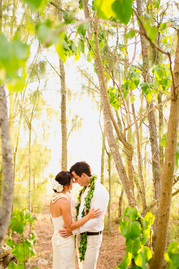 Private Moments at Loulu Palm Estate, Photo by Sealight Studios