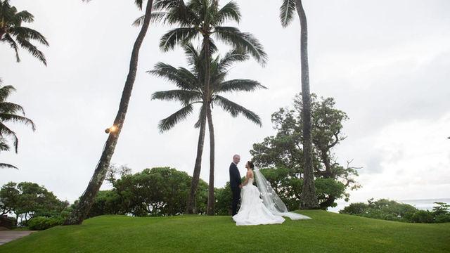 A Romantic Wedding in Paradise