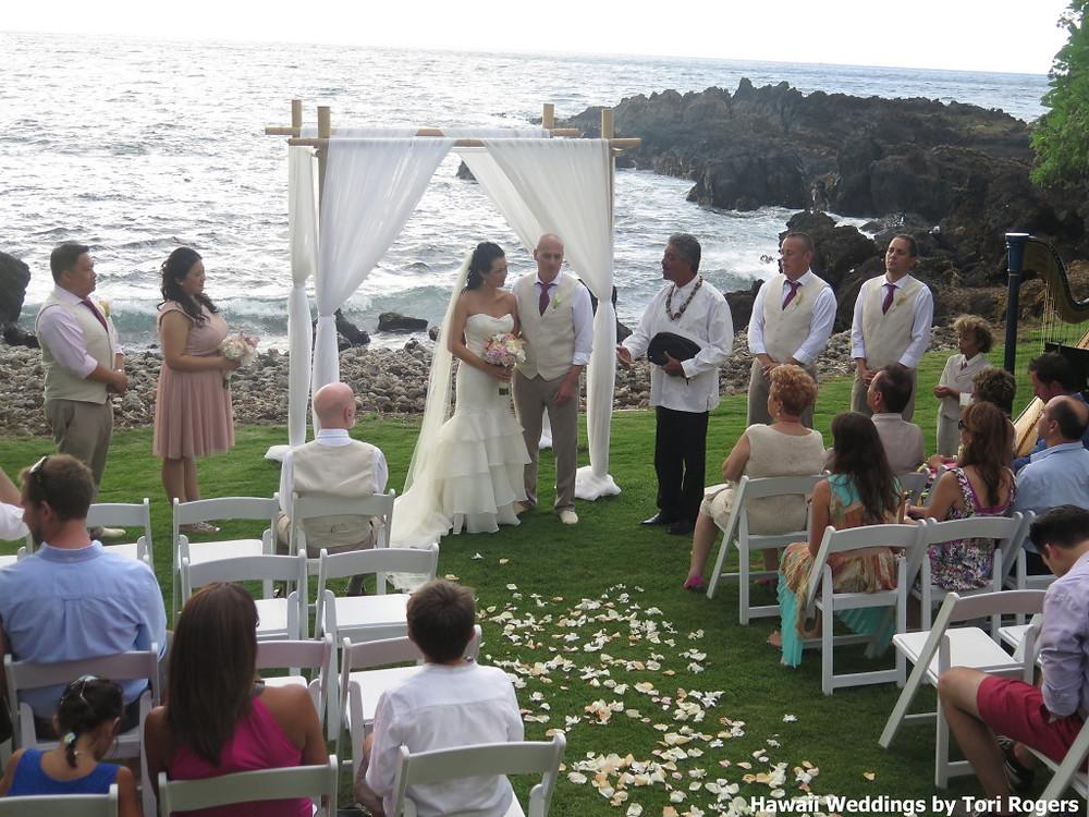 ceremony and harp