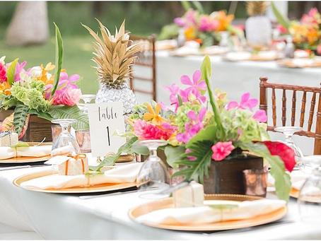 Wedding Table Setting Decor