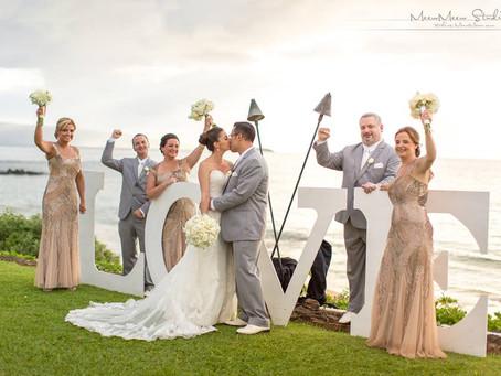 A Gorgeous Pinterest Wedding on Maui