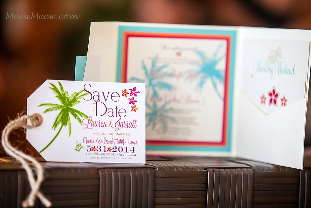 Vintage Hawaiian Invitation