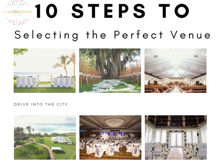 10 Steps to Selecting the Perfect Venue