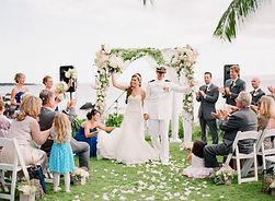 Maui Estate Military Wedding