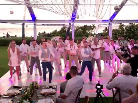 Surprise Flash Mob First Dance