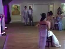 Groom Surprises Bride with Lap Dance