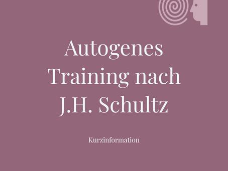 Autogenes Training nach J. H. Schultz - Kurzinfo