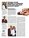 Terapeutas Sexuais Leila Campos e Ricardo Vieira em matéria na Revista Saúde Macaé
