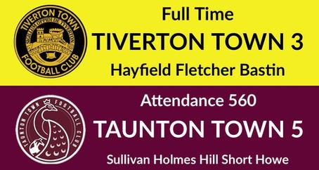 Tiverton Town 3-5 Taunton Town