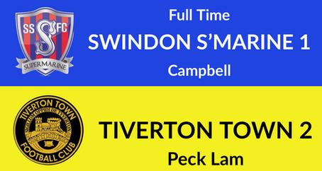 Swindon Supermarine 1-2 Tiverton Town
