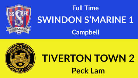 Swindon Supermarine 1-2 Tiverton Town
