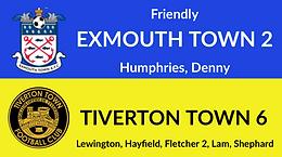 Exmouth Town 2-6 Tiverton Town