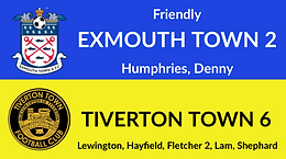 Exmouth Town 2-6 Tiverton Town