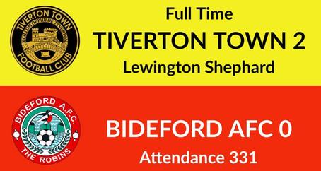 Tiverton Town 2-0 Bideford