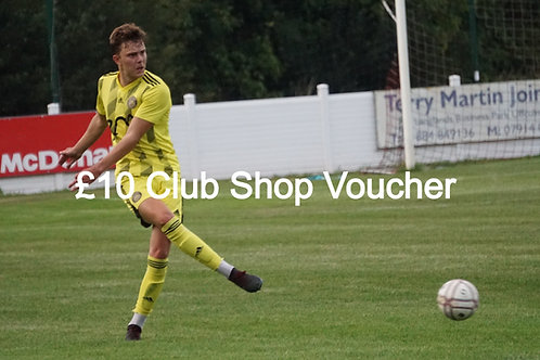 £10 Club Shop Voucher