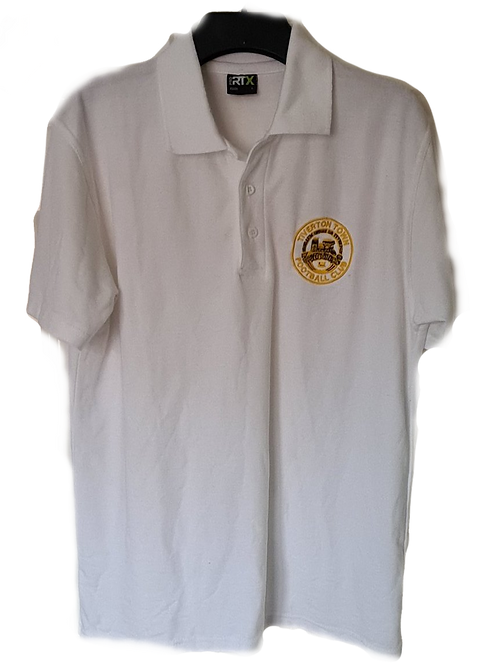 Tiverton Town F.C Polo Shirt (White)