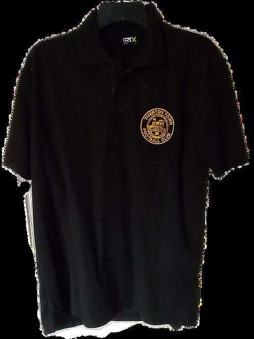 Tiverton Town F.C Polo Shirt (Black)
